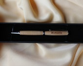 Olive wood pen - personalized or plain