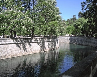 Original Photograph (Matted): Curved Canal