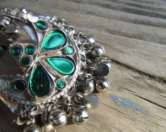 Tribal Kuchi Cresent Earrings