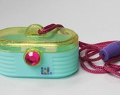 VTG Caboodles Jewel Minis Ring Case Necklace Make Up Jewelry Case Toy Biz 1993