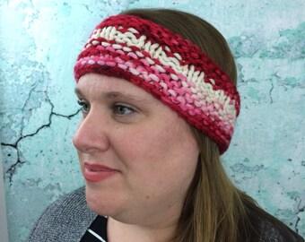 Chunky Merino Handdyed Headband