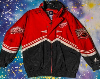 Detroit RED WINGS Starter Jacket Size XL
