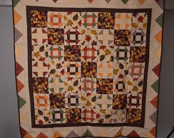 Fall Toned Wall Quilt