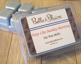 Easy like Sunday Morning- Soy Tarts- Scented Wax Melts