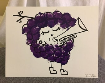 Grape Music: Print