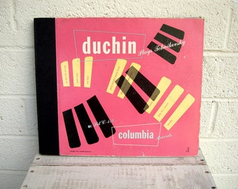 Vintage PETER DUCHIN Plays Tchaikovsky: Columbia RECORD Collection Set C-157- 4 Records Included- Cool Retro Display
