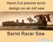 Barrel Racer horse rider ...