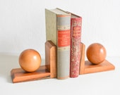 Bookends, Rustic wood bookends, Modern bookends, housewarming gift, book lover gift, solid wood bookends, rustic decor, rustic home decor