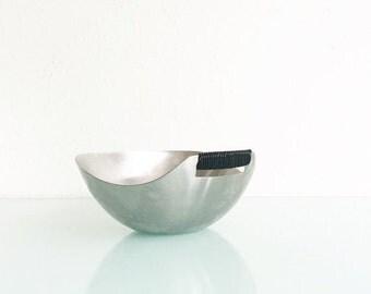 ON SALE Mid Century Danish Stainless Bowl