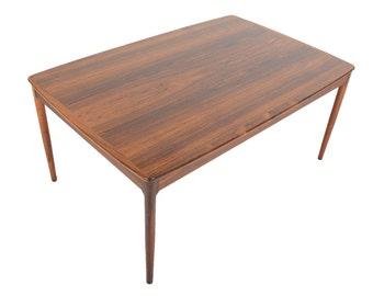 Yngvar Sandström Large Brazilian Rosewood Mid Century Modern Coffee Table
