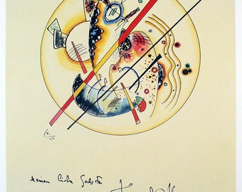 Wassily Kandinsky-Watercolor from the Galston Guest Book-1988 Poster