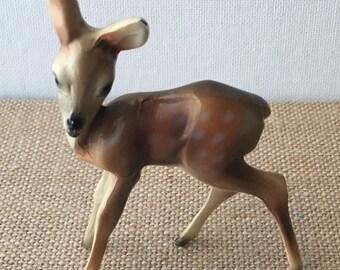 Vintage metal deer Fawn marked K&O co Kronheim Oldenbusch