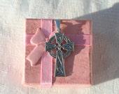 FREE SHIPPING Sterling Silver Vintage Celtic Cross Pendant Hallmarked Silver