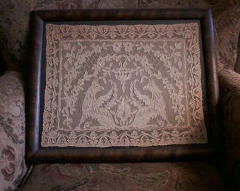 Antique Framed Lace