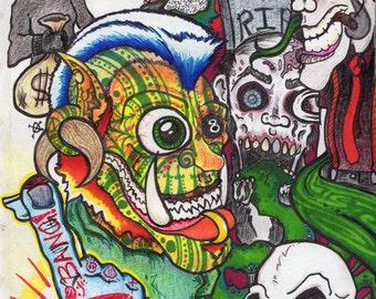 Bang Bang - Graffiti  PRINT