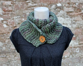 Knitting pattern, womens scarf snood pattern - Listing86
