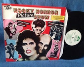 """RARE, Vintage, """"Rocky Horror Picture Show"""" Original Soundtrack, Vinyl LP Record, First Press, Tim Curry, Meatloaf, Transexual Transvestite"""