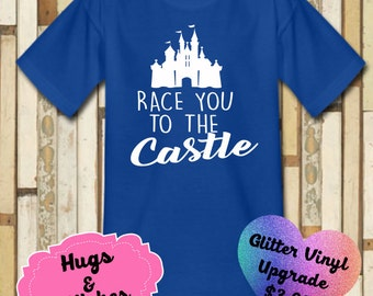 Race You To The Castle Disney Shirt