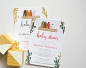 Book Themed Baby Shower - Books - Story Book Themed - Baby Shower - Invitation - PDF File - Digital File