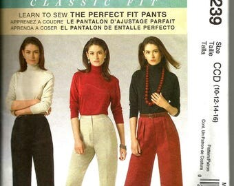 McCalls 5239 uncut size 10 - 16 womans Palmer Pletsch pants