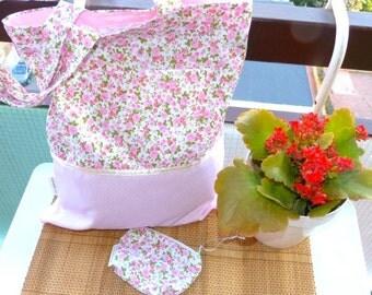 Market bag & pouch Polka dot bag, grocery bag, shopping bag polca dot tote purse