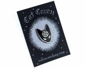 Cat Coven: Silver Pin
