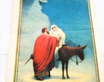 1936 Christian Calendar, original, excellent condition