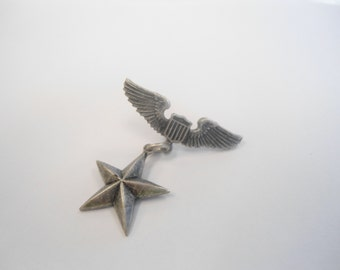 1 Bronze Plated Air Force Pilot Wing Pin