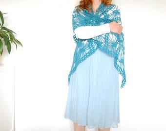 shawl, shrug, scarf, crochet