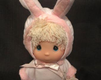 Precious Moments Doll Hi Babies Bunny Rabbit Suit