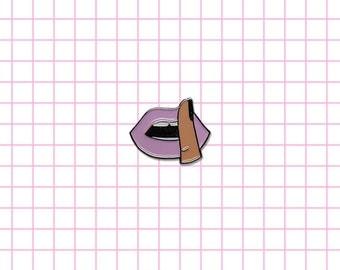 60% off Pretty Little Liars fan lapel enamel pin Got a secret Who is A