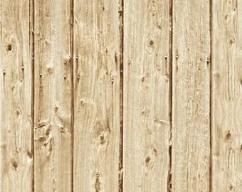 Ranch Hands Wood Grain Cream - Windham Fabrics - 42584-5