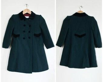 Vintage girls coat | Etsy