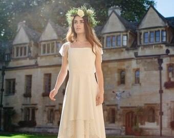 Elise -> Wedding gown. Original bridal gown. Vintage inspired. Edwardian style. Boho dress