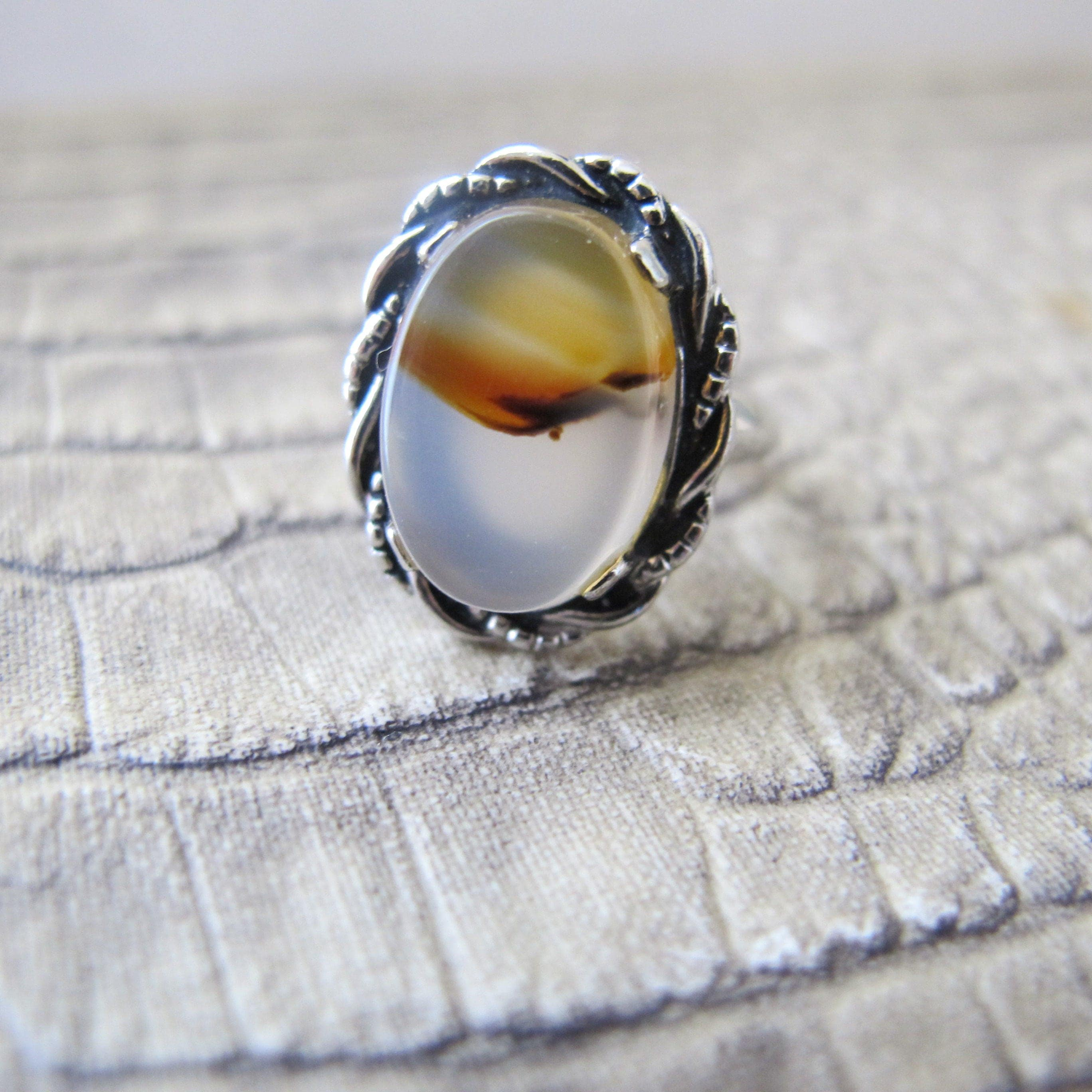 creations zuzu agate gray s blue ring ice from petals sterling rings handmade silver jewelry