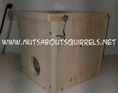 Mini Squirrel Nesting Box