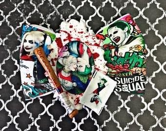Harley and joker bow
