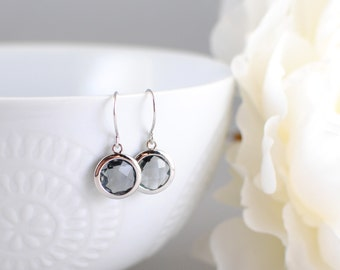 The Marion Earrings - Grey