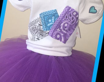 Patchwork Tutu Set
