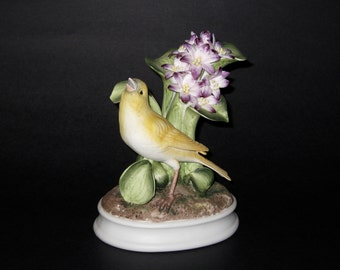 "Vintage Andrea by  Sadek  'Canary"" Figurine"