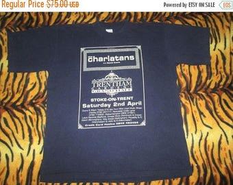 35% OFF Vintage The Charlatans 1990s Promo Tour Concert T-shirt