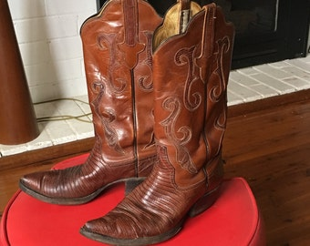Vintage Cow Girl Western Boots