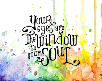 Window To Your Soul, Visible Image