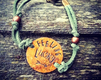 Feeling Lucky Bracelet, St. Patrick's Day Jewelry