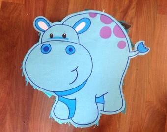 Cute Hippo Pinata
