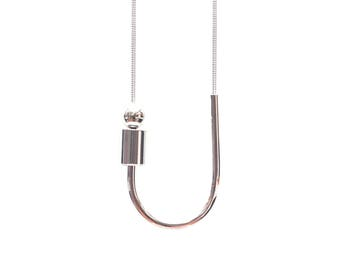 Silver Chock A Block Necklace *PRE-ORDER*