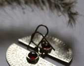 half moon sterling silver botanical earrings, IMMORTAL, carnelian silver earrings, axe silver earrrings, statement silver earrings
