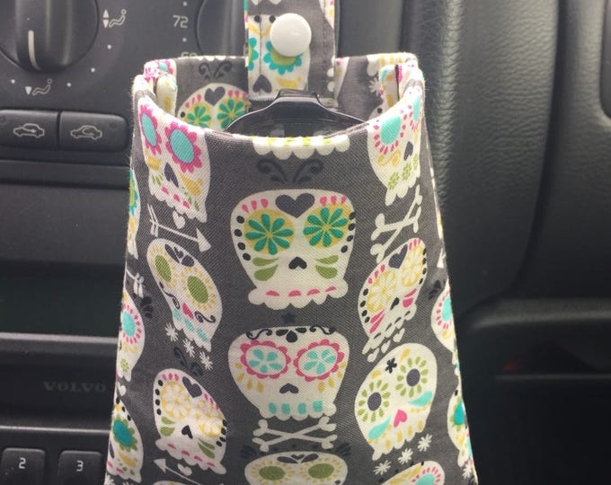 Vent Clip Bag, Car Caddy Organization Bag, Hanging Organization, Clipped Hanging Bag, Sunglasses holder, Phone holder, Change Holder