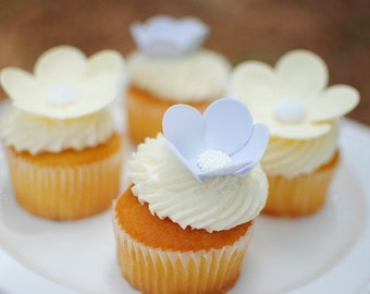 Butterfly and Flower Cupcake/Cake toppers for birthdays, showers, or weddings