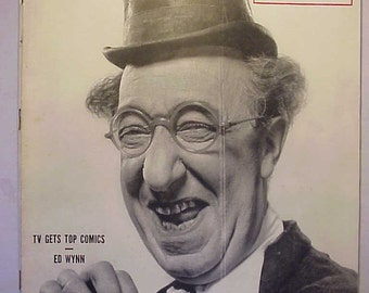 October 23 1950 LIFE Magazine with Ed Wynn on the Cover has 152 pages of ads and articles